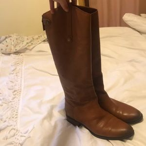 Sam Edelman Penny Leather Riding Boot, brown